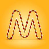 Letter M — Vettoriale Stock