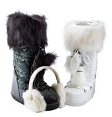 Boots B/W — Stock Photo