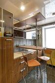 Small kitchen — Stock Photo