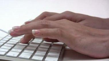 Typing — ストックビデオ