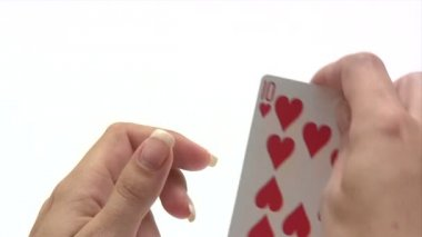 Royal Flush — Stock Video