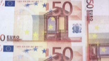 Printing Euros — Stock Video