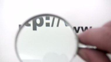 寻找一个 web 地址 — 图库视频影像