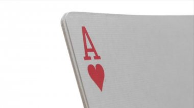 Four Aces - Close-Up — Stock Video