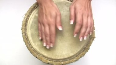 Beating the Drum — Stock Video