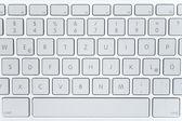 Teclado del ordenador portátil moderno — Foto de Stock
