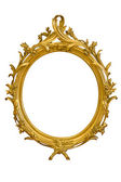 Ornamented Oval Picture Frame — Стоковое фото