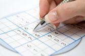 Sudoku — Foto de Stock