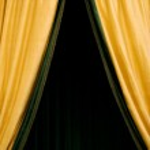Golden Curtain — Stock Photo #18849945