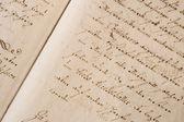 Stare pisma — Zdjęcie stockowe