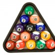 Foto Stock: Billiard Balls