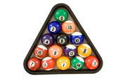 Billiard Balls — Stock fotografie
