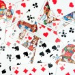 Playing Cards Background — Photo