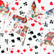 Playing Cards Background — Stockfoto