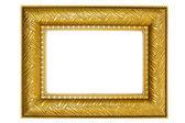 金色相框与装饰品 — 图库照片