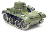 Old Toy Tank — Stockfoto