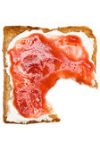 Breakfast Toast — Stockfoto