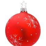 Isolated Christmas Bauble — Stock Photo