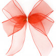 Translucent Red Ribbon — Stock Photo #19287005
