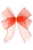 Translucent Red Ribbon — Stock Photo