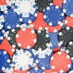 Poker Chips Background — Stock Photo