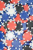 Poker żetony tło — Zdjęcie stockowe