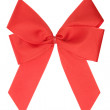 Red Ribbon with Clipping Path — Stock Photo #19409085