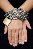 Bound Hands — Stock Photo