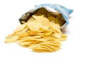 Bag of Potato Chips — 图库照片