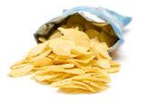 Bolsa de papas fritas — Foto de Stock