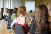 Konferencja kobiet — Zdjęcie stockowe