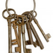 Rusty Keys — Stock Photo #19410343