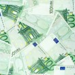 One Hundred Euro Banknotes — Stok fotoğraf