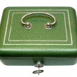 Closed Cash Box with Clipping Path — Foto Stock
