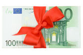 Banknotes with Ribbon — Stock Photo