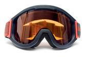 Ski Goggles Front View — Stock Photo