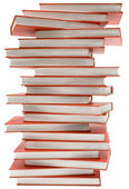 Stacked Encyclopedia with Clipping Path — Stock Photo