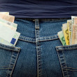 Pockets Full of Money — Stock Photo
