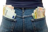 Pockets Full of Money — Stock Photo