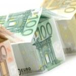 Euro Houses Close View — Stock Photo