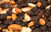 Trail mix fondo — Foto de Stock