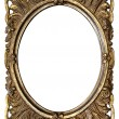 Ornamented Oval Picture Frame with Clipping Path — стоковое фото #20356891