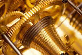 Golden Clockwork — Stock Photo