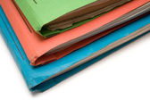 Colorful Binders — Foto Stock