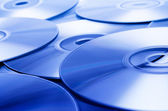 Blue Discs — Stock Photo