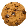 Stok fotoğraf: Chocolate Chip Cookie with Clipping Path