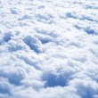 Above the Clouds — Stock Photo