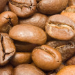 Coffee Beans Macro Background — Stock Photo