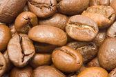 Coffee Beans Macro Background — Stock Photo