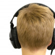 Stock Photo: Boy with Headphones